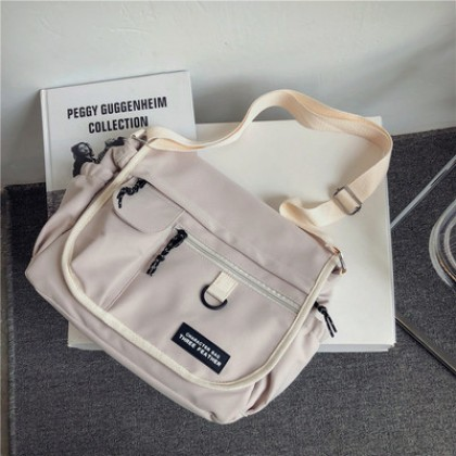 Men Multi-pocket Casual Large-capacity Cross-back Shoulder Bag