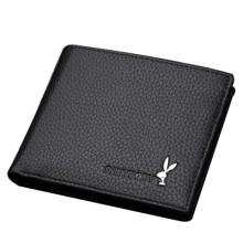 [PRE-ORDER] Men PU Rabbit Business Short Wallet