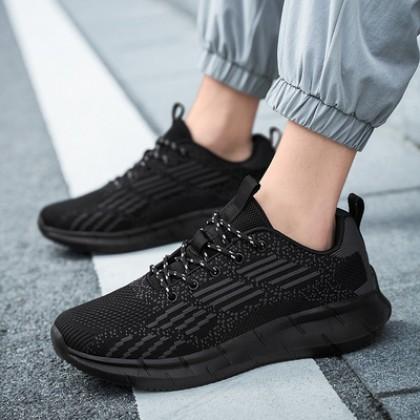 Men Summer Mesh Breathable Lightweight Running Shoes