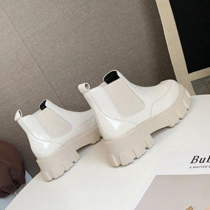 Women Fashion Thick-soled Platform Short-tube Boots