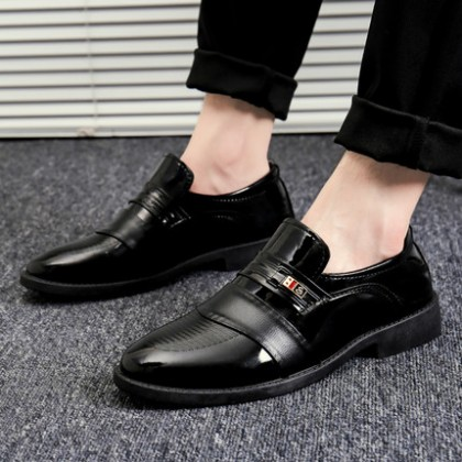 Men Leather Formal Handsome Working Shoes