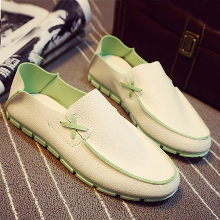 Men Casual Mixed Color Camp Mocs Loafers Shoes