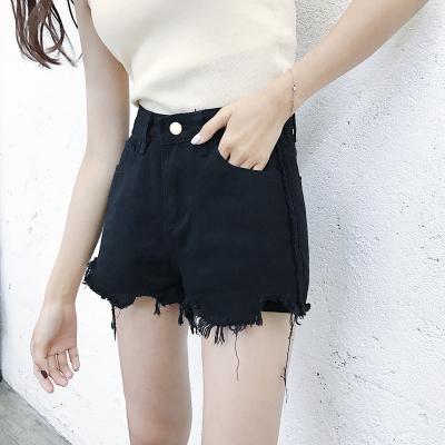 Women Sexy High Waist Denim Shorts