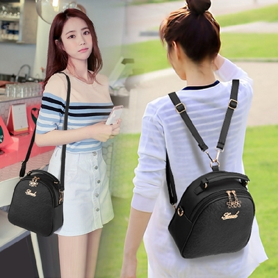 Women Multi Function Purpose Backpack Sling Bag
