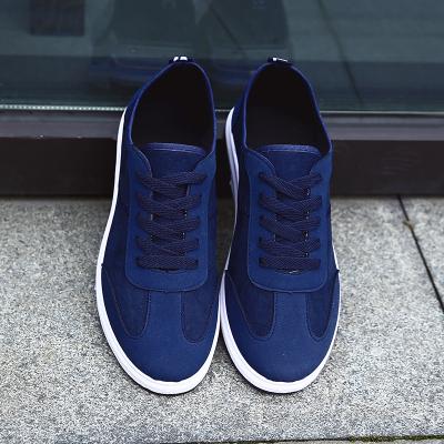 Men Pure Color Simple Design Outing Canvas Shoes
