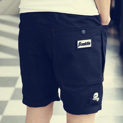 Men Casual Frankin Pocket Short Pants Shorts