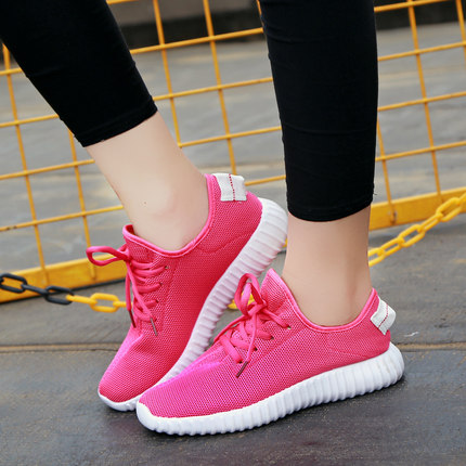 Women Non-Slippery Lace Running Sport Shoes