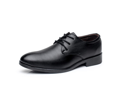 Men England Working Office PU Leather Shoes