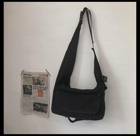 Men Fashion Large Capacity all-match Japanese Shoulder Bag