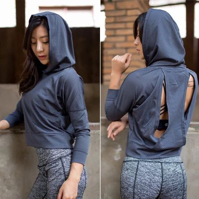 Women Running Sport Cool Jacket Hoodies