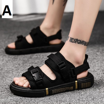 Men Fashion Anti-sweat Outdoor Wear Beach Sandals Non-slip