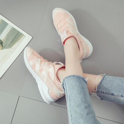 Women Casual Macaroon Color Sports Shoes