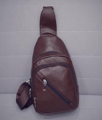 Men PU Leather Sling Shoulder Sling Cross-body Bag