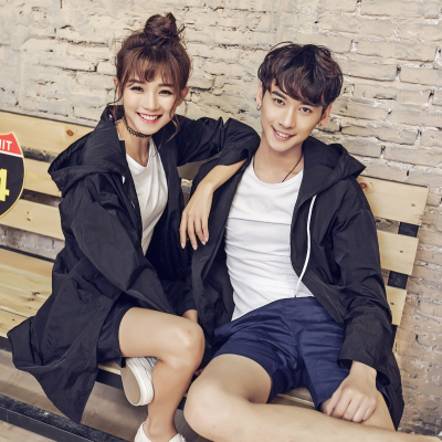 Men Women Couple Sun Protection Thin Jacket