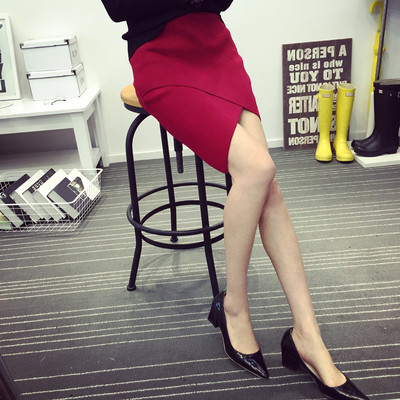 Women Clothing Knit Slim Sexy Office Skirt
