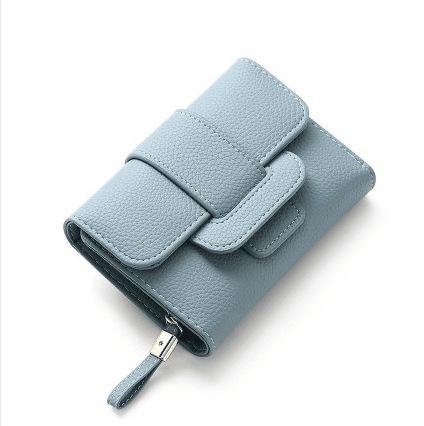 Women Everyday Multi-Functional Three-Fold Wallet