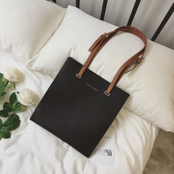 Women Everyday Large Leather Tote