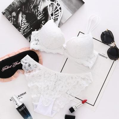 Women Sexy Lingerie Lace Bra White
