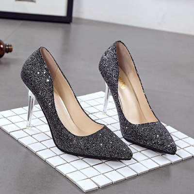 Women New Autumn And Winter Pointy Night Girls Heels, Bridal Shoes