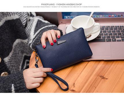 Women Long Wallet, Zipper Ladies Mobile Phone bag, Casual handbag