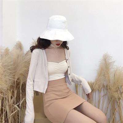 Women Chic High Waist Slim Bag Hip Knit Skirt