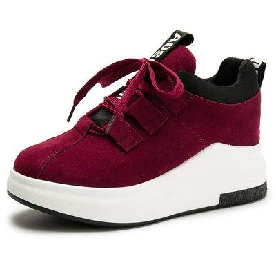 Women Autumn And Winter Velvet Sports Shoes
