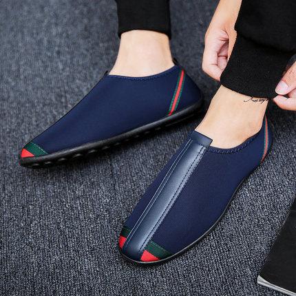 Men Beijing Cloth Shoes Tide Shoes