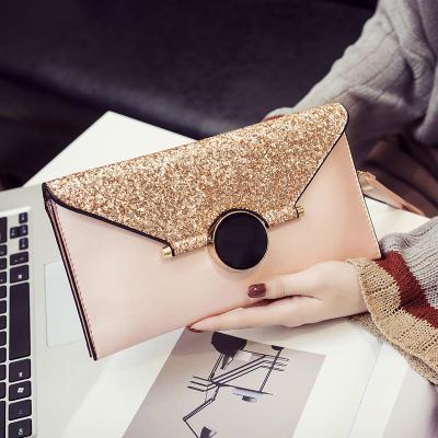 Women New Envelope Handbag Messenger Bag Wild Temperament Clutch