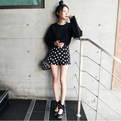 Women Clothing Korean Dots Plus Size XL Short Pant
