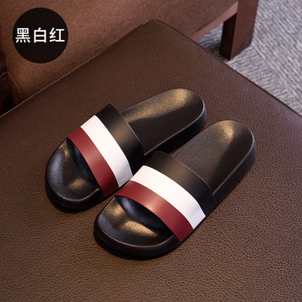 Men Fashion Trendy Beach Casual Home Indoor and Outdoor Bath Slippers  Shoes