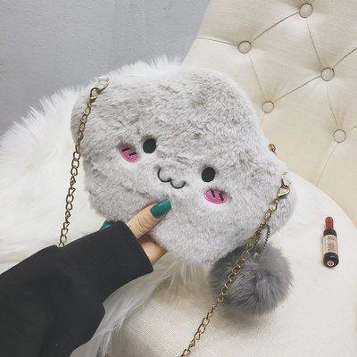 Women New Korean Version of Wild Push Chain Bag Cell Phone Bag
