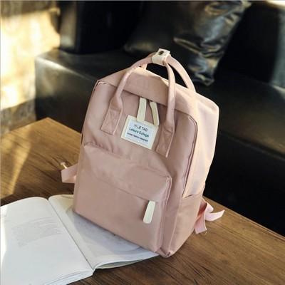 Women Travel Schoolbag Waterproof Oxford Student Backpack