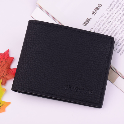 Men Business Multi-card Purse Fashion Student Wallet