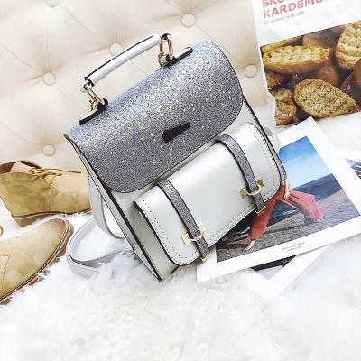 Women Korean Sequins Travel Casual Shining Backpack