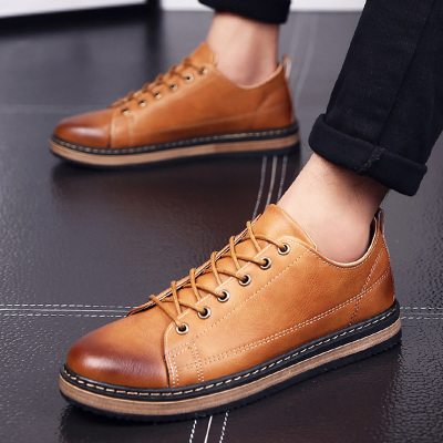 Men British Style Casual Brock Business Shoes