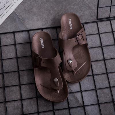 Men Flip Flops Outdoor Non-slip Beach Buckle Sandals