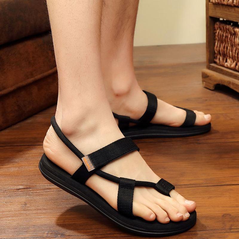 Men Couple Plus Size Flip-Flops Casual Rubber Slippers Sandals