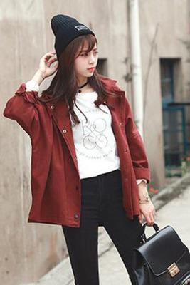 Women Clothing Korean Long Sleeve Jackets
