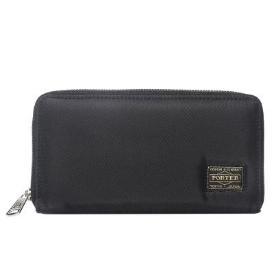 Men's Casual Card Holder Zippered Long Wallet