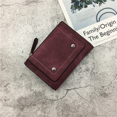 Women Simple Fashion Ladies Coin Purse And Mini Wallet