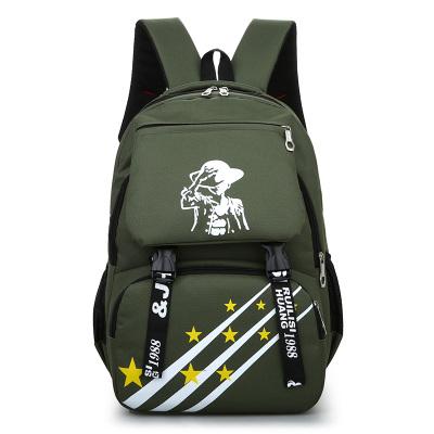 Men's Fashion Male Big Capacity Travel Bag Student Trendy Backpack