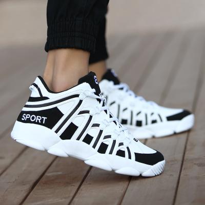 Men\'s Warm Cotton Sports Basketball Shoes Men Fashion Rubber Shoes
