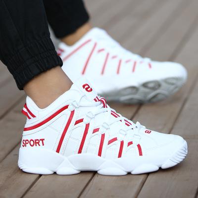 Men's Warm Cotton Sports Basketball Shoes Men Fashion Rubber Shoes