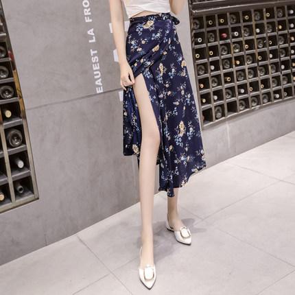 Women Chiffon Wrap Around Tie Me Skirt Summer Fashion Sexy Beach Skirt