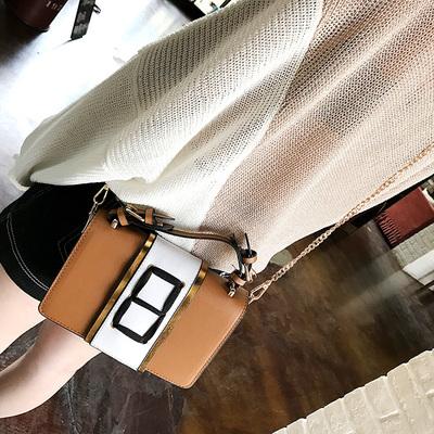 Women Classy Wild Fashion Square Diagonal Tie Sling Bag Cross Body Bag