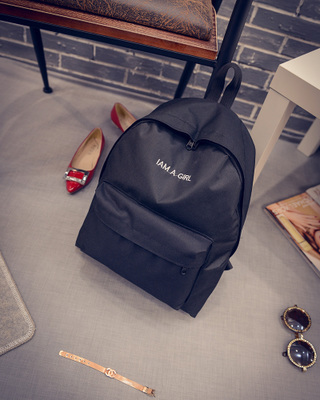 Women Young Wild Fashion Student Ladies Travel Luggage Backpack