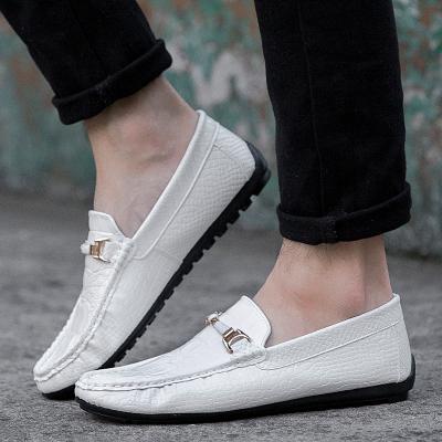 Men's Peas Shoes Business Shoes Daily Wear Fashion Casual Shoes