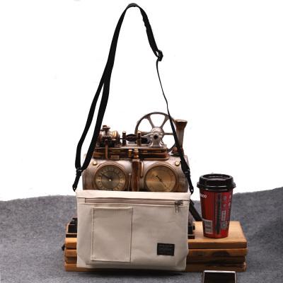 Men's Simple Style Messenger Sling Bag Street Fashion Clutch Storage Cross Body Bag