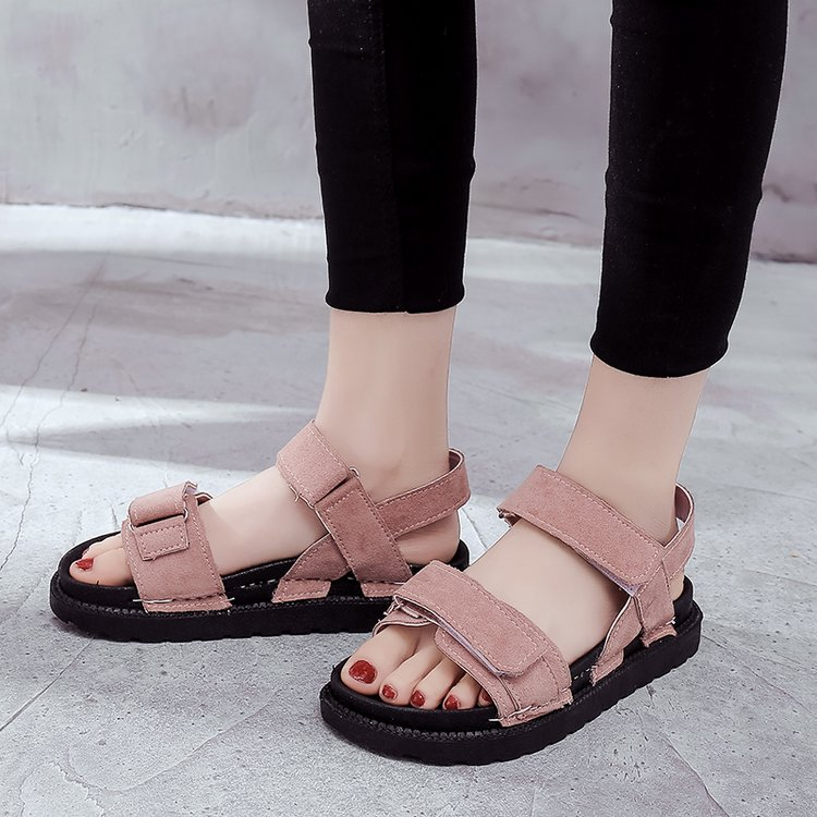 Women Roman Sandals Thick Soled Summer Beach Fashion  Plus Size Sandals