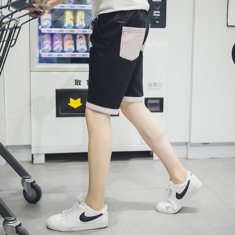 763f12342021a Men s Summer Pastel Shorts Male Beach Fashion Plus Size Pants